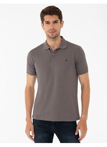 Pierre Cardin G021Gl011.000.1286351.Vr080 T-Shirt Basi Gri